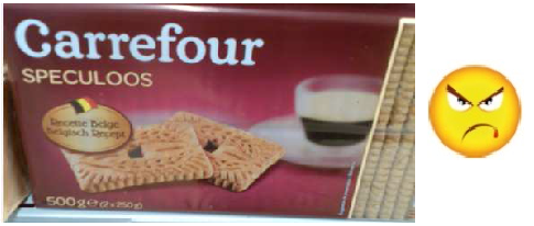 Speculoos carrefour 1